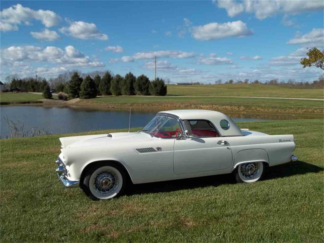 1955 ford thunderbird for sale cc 931989. Black Bedroom Furniture Sets. Home Design Ideas