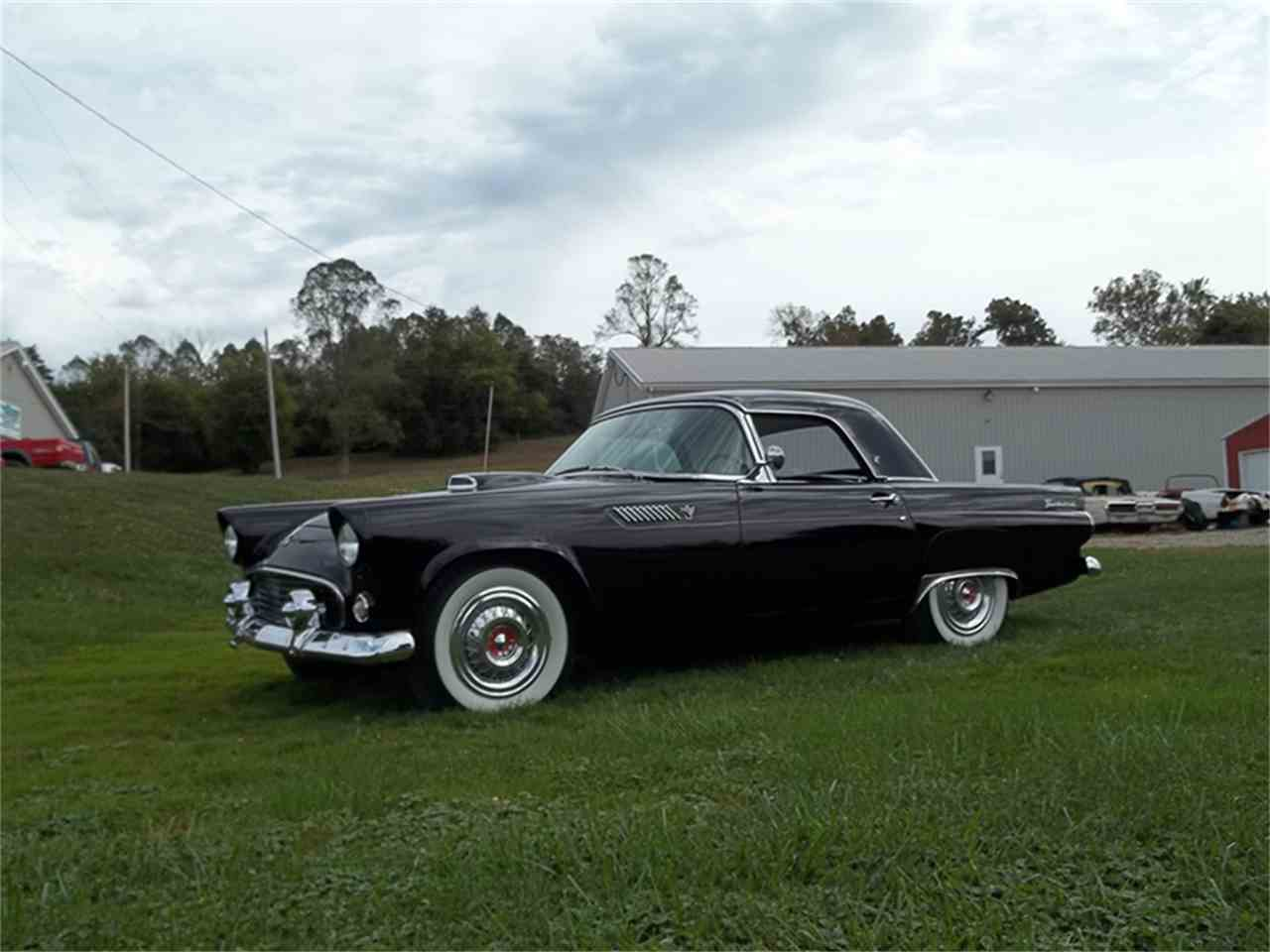 1955 ford thunderbird for sale cc 931996. Black Bedroom Furniture Sets. Home Design Ideas