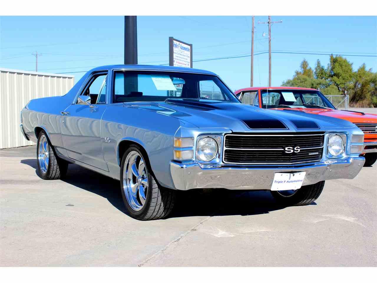 1971 Chevrolet El Camino For Sale Classiccars Com Cc