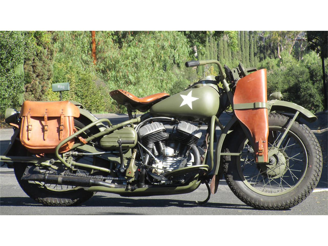 1942 harley davidson wla for sale cc. Black Bedroom Furniture Sets. Home Design Ideas