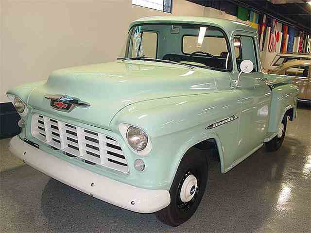 1955 chevrolet pickup for sale on. Black Bedroom Furniture Sets. Home Design Ideas