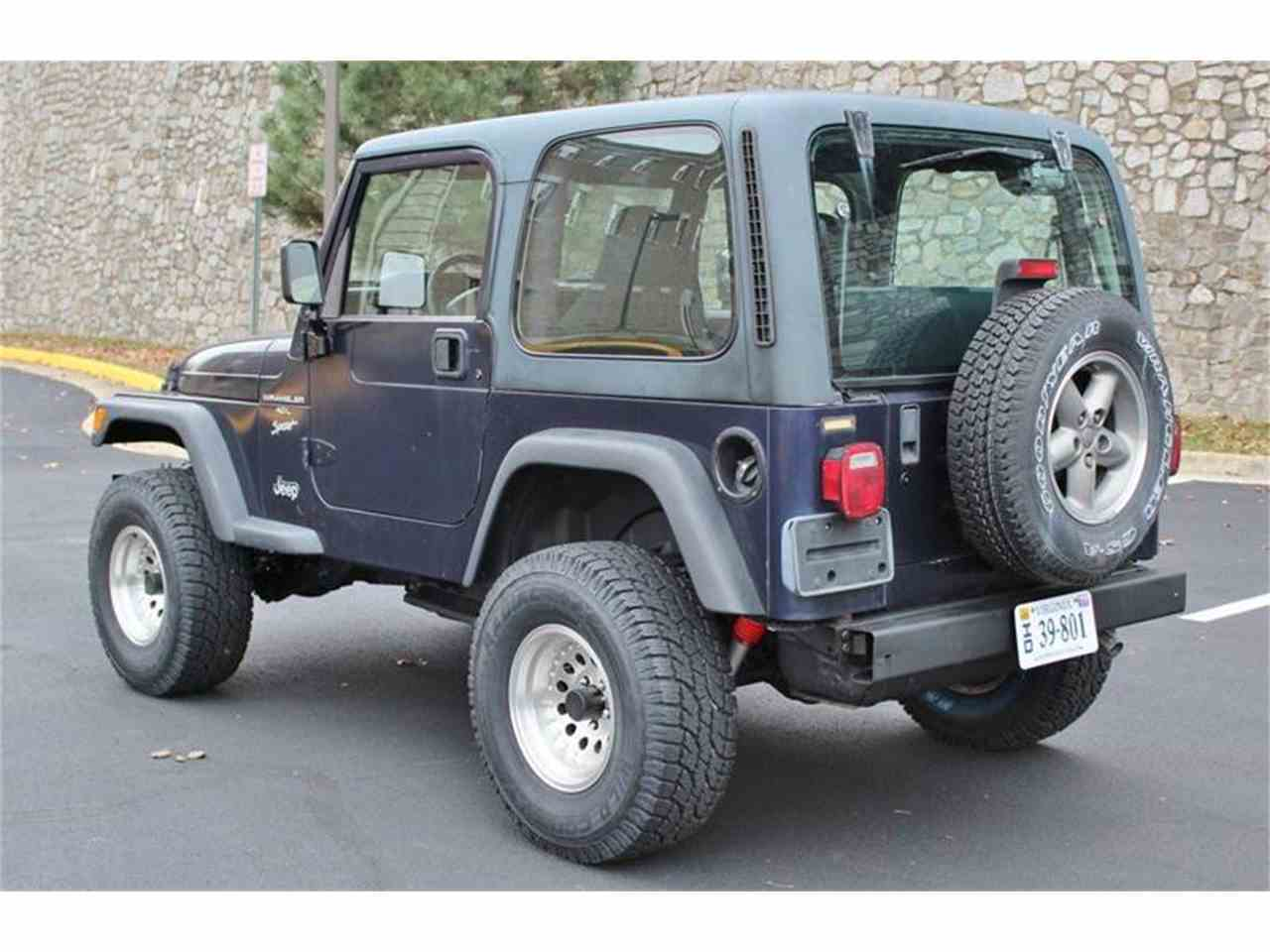1999 jeep wrangler for sale cc 932352. Black Bedroom Furniture Sets. Home Design Ideas