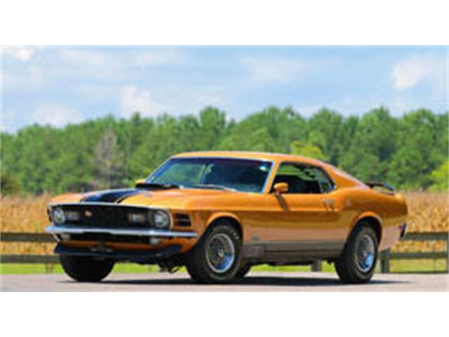 1970 Ford Mustang Mach 1 | 930247