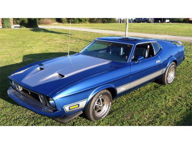 1973 Ford Mustang Mach 1 | 930250