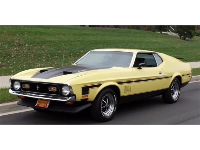 1971 Ford Mustang | 932806