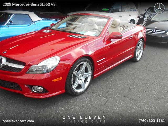 2009 Mercedes-Benz SL550 V8 | 932919