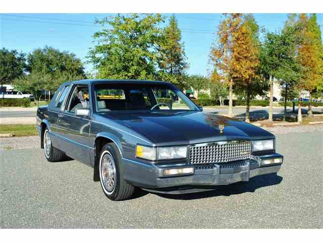 1989 Cadillac DeVille   932930