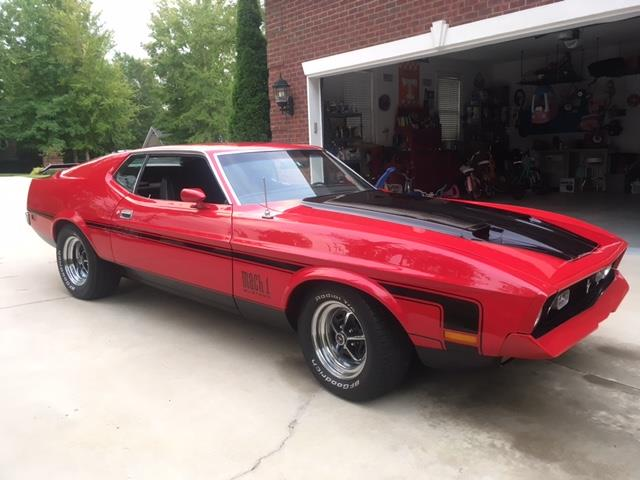 1972 Ford Mustang Mach 1 | 930345