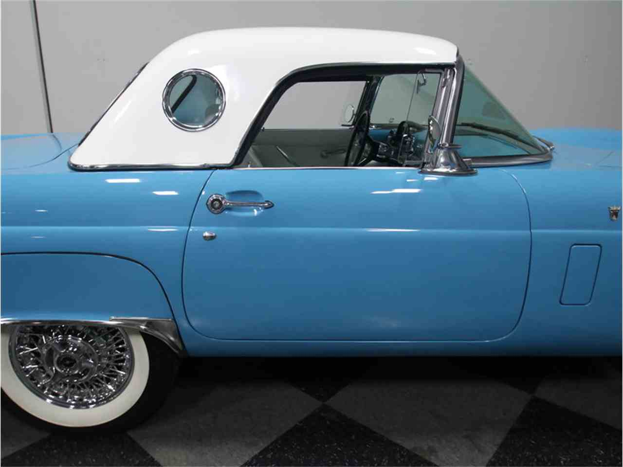 1956 ford thunderbird for sale cc 933568. Black Bedroom Furniture Sets. Home Design Ideas