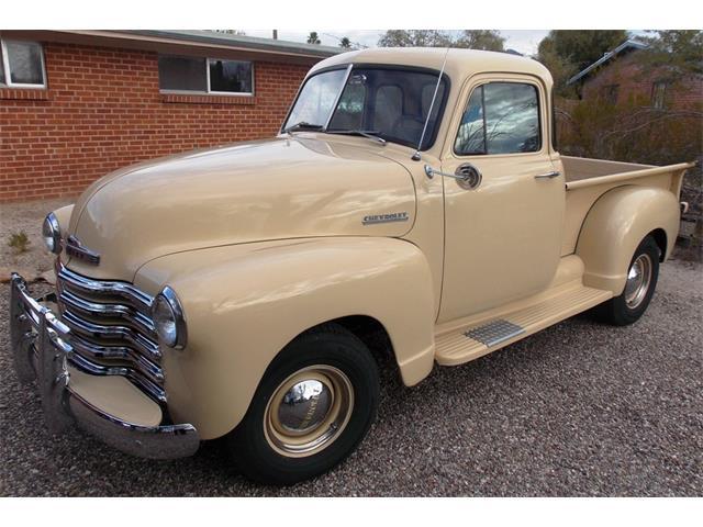 1952 Chevrolet 5 Window PU   933704