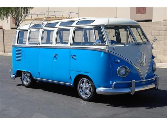 1962 Volkswagen 23 Window Micro Bus