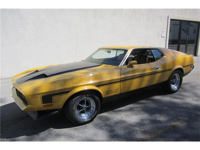 1971 Ford Mustang Mach 1 | 934182