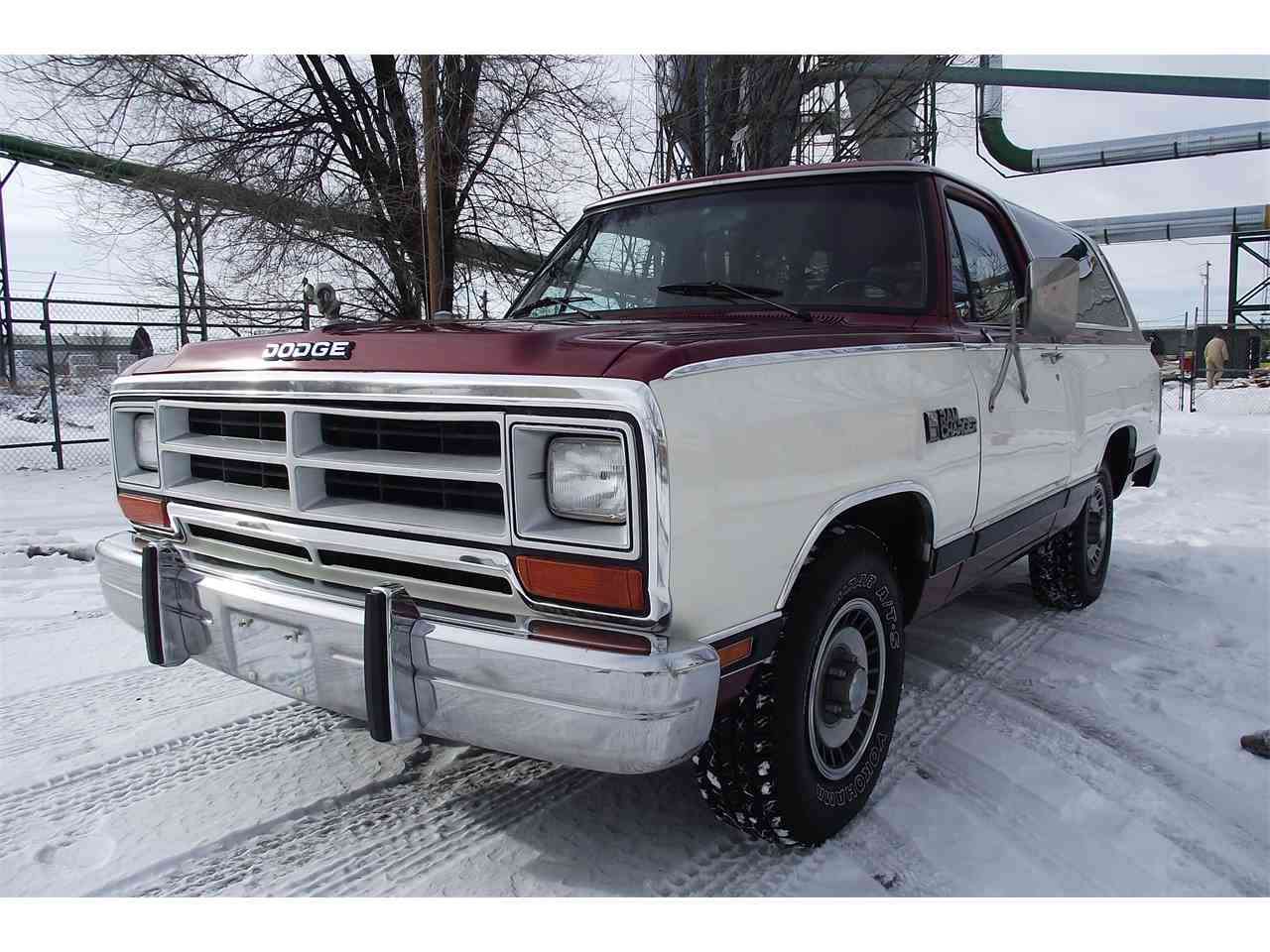 1987 dodge ramcharger 934563
