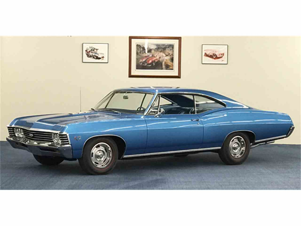 1967 chevrolet impala for sale cc 934570. Black Bedroom Furniture Sets. Home Design Ideas