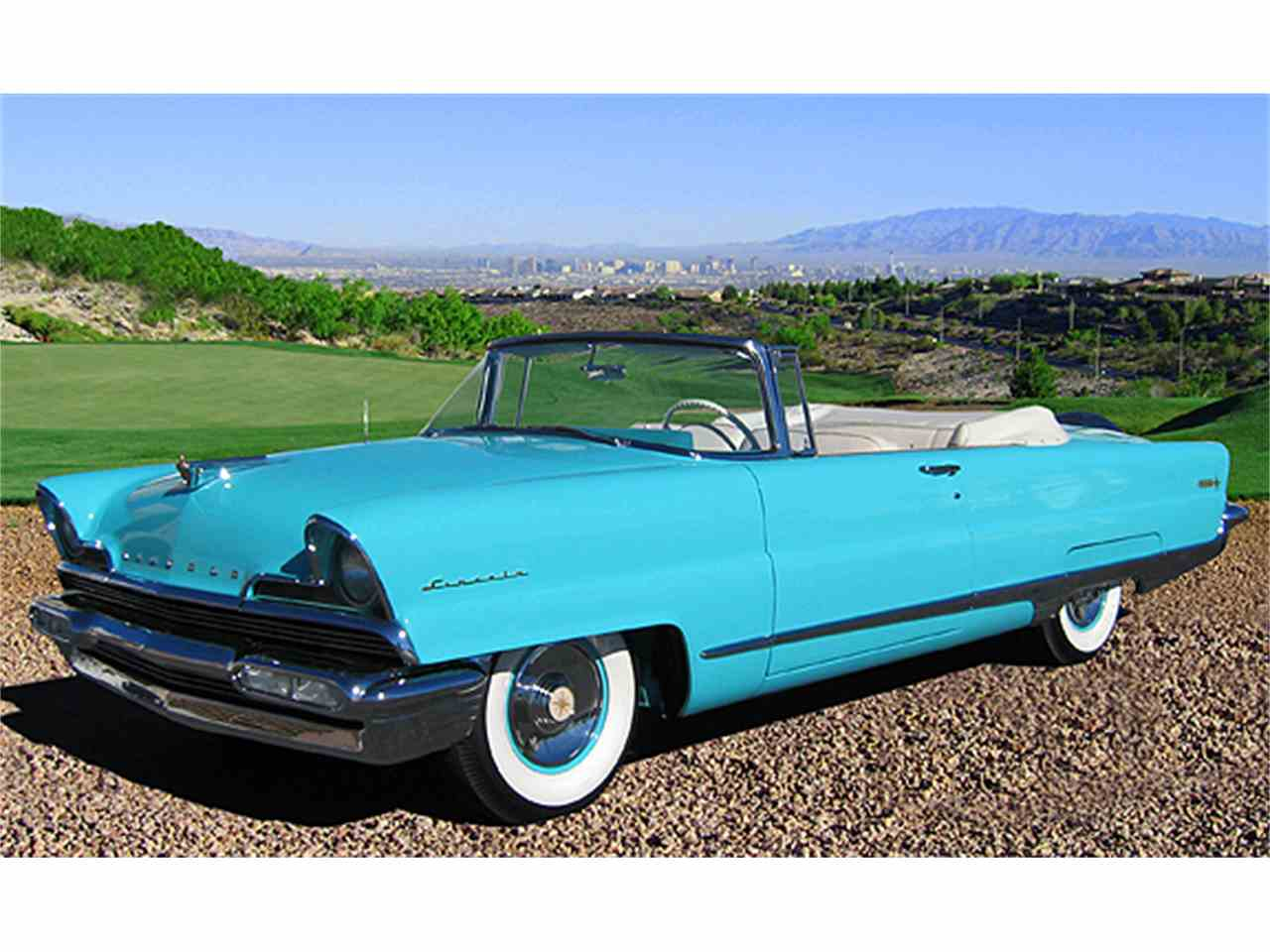 Large Picture of Classic 1956 Lincoln Premiere Offered by The Auto Collections - K14D