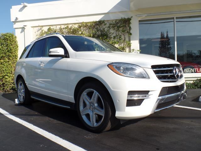 2014 Mercedes ML550 4-Matic | 934583
