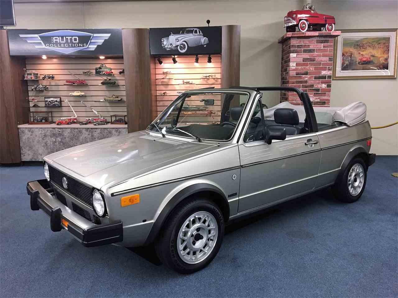 1985 Volkswagen Cabriolet For Sale Classiccars Com Cc 930047