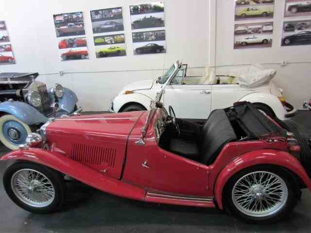 1949 MG T-Series TC Roadster | 934979
