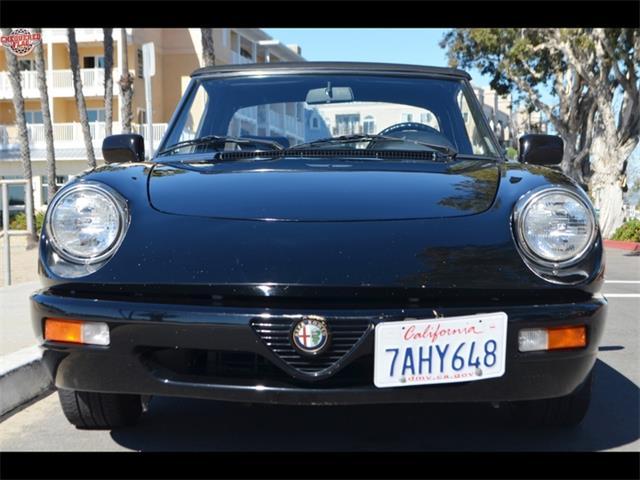 1993 Alfa Romeo Spider Veloce convertible   935150
