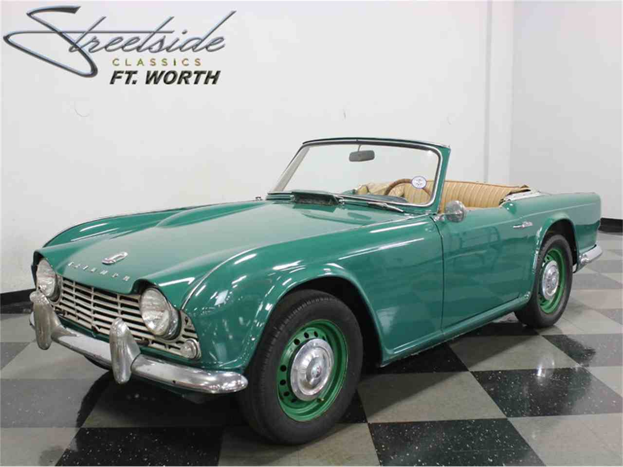 1963 triumph tr4 for sale cc 935534. Black Bedroom Furniture Sets. Home Design Ideas