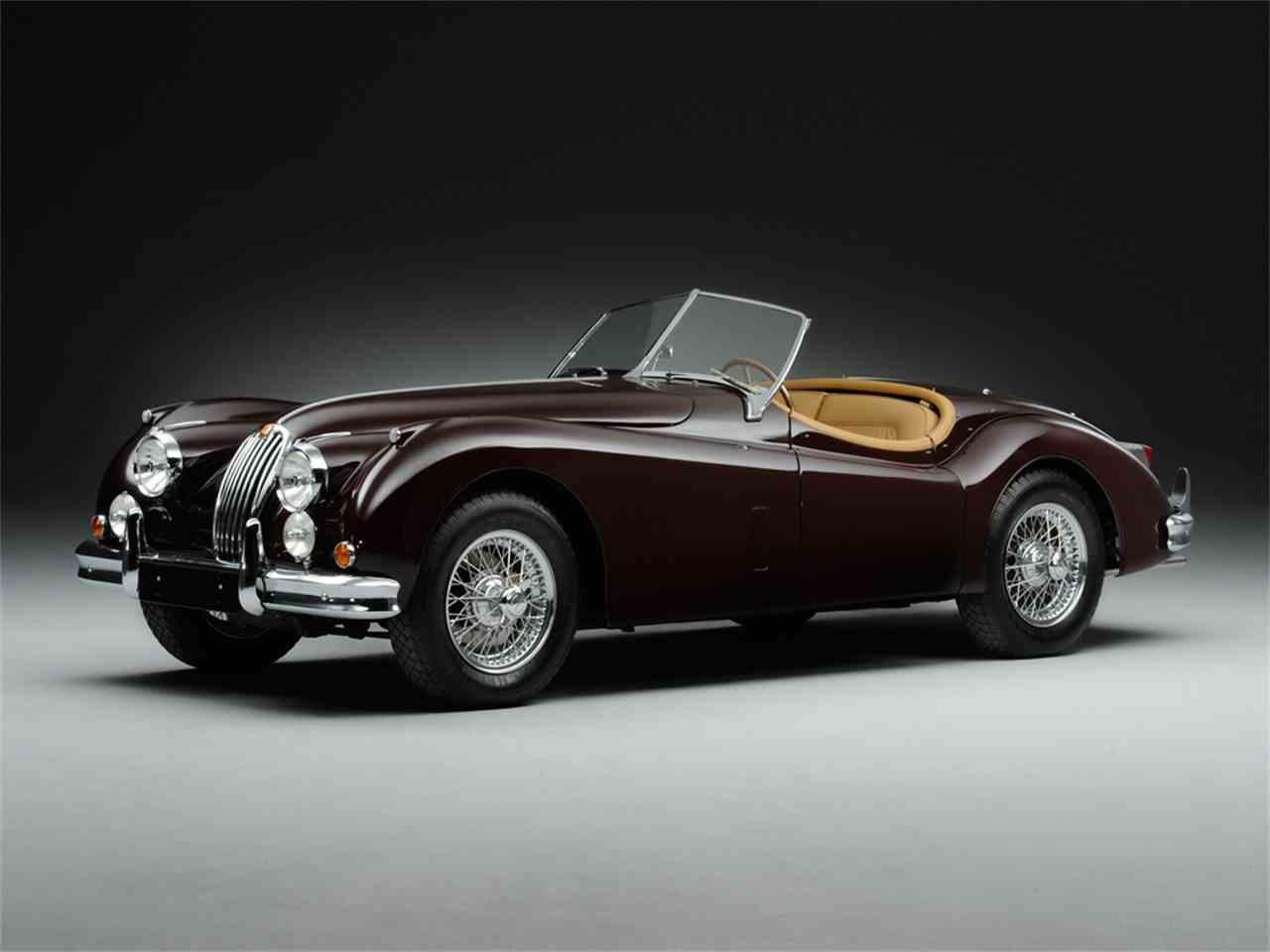 Buying A Vintage 1955 Jaguar XK140 Roadster | Beverly ...  |1955 Jaguar Roadster