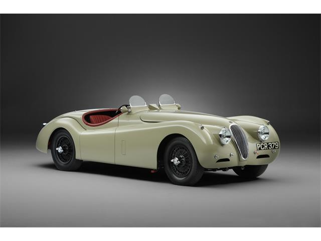 1953 Jaguar XK120 Mike Salmon Competition Roadster