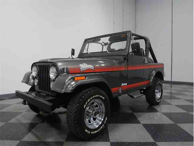 1986 Jeep CJ7 Westerner Edition