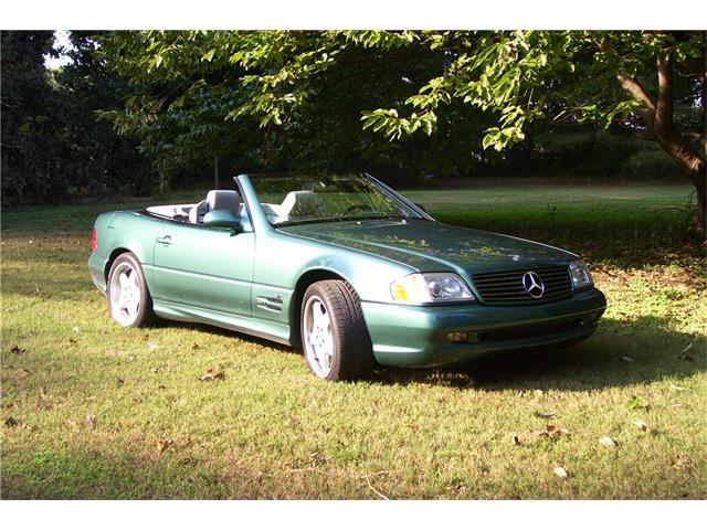 2000 Mercedes-Benz SL600 | 936020