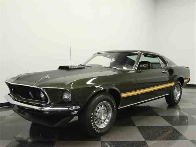 1969 Ford Mustang Mach 1 Cobra Jet | 930608