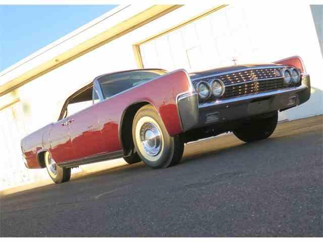 1962 Lincoln Continental   936485