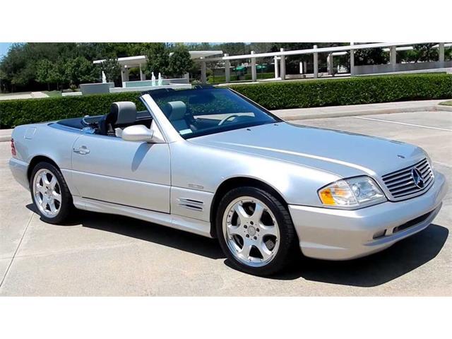 2002 Mercedes-Benz SL500 Silver Arrow   936556
