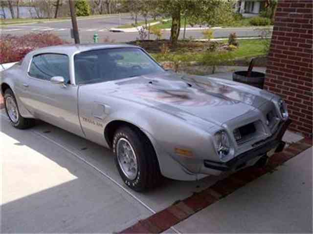 1975 pontiac firebird trans am for sale on 5 available. Black Bedroom Furniture Sets. Home Design Ideas