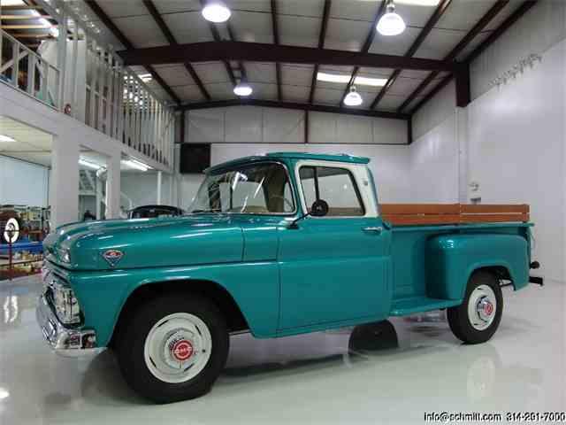 1963 GMC 1500 CUSTOM CAB WIDESIDE PICKUP | 936979