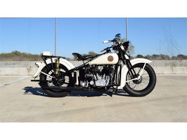 1936 Harley-Davidson VLH Flathead Police Bike | 937146