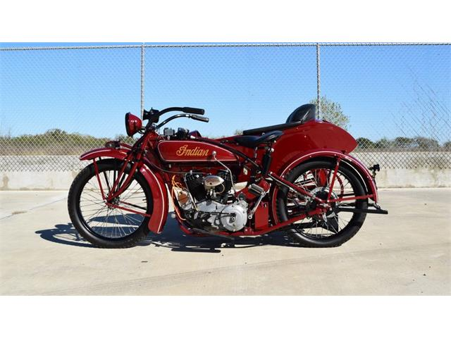 1923 Indian Chief With Princess Side Car | 937150