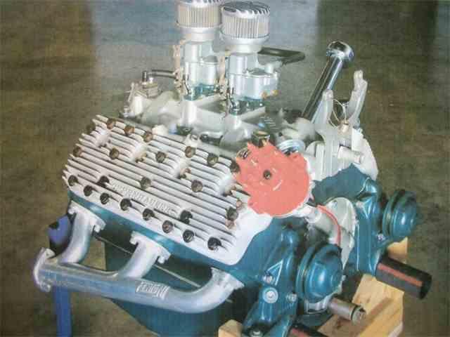 1953 OFFENHAUSER engine   937512