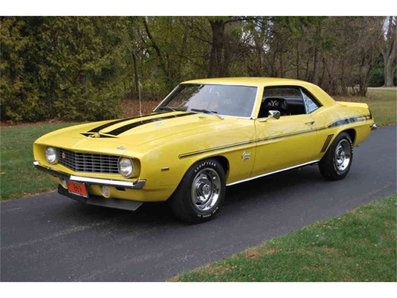 1969 chevrolet camaro copo yenko for sale cc 937568. Black Bedroom Furniture Sets. Home Design Ideas