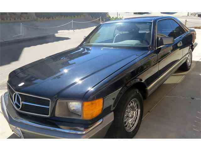 Classic mercedes benz 500sec for sale on for Private sale mercedes benz