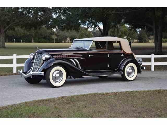 1936 Auburn 850Y | 937604