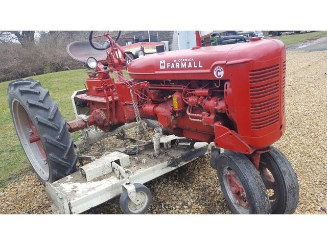 1952 International Harvester Super C w/ Woods Mower | 930077