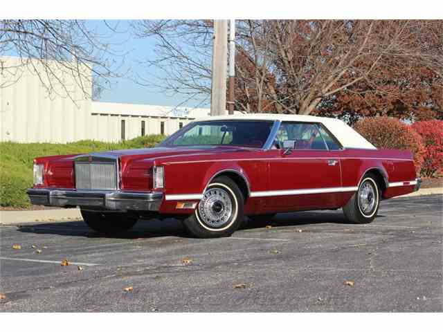 1978 Lincoln Mark V 4k original miles | 930796