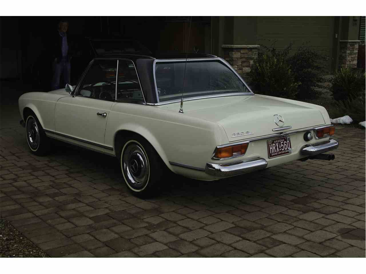 1967 mercedes benz 230sl for sale cc for Mercedes benz 230sl