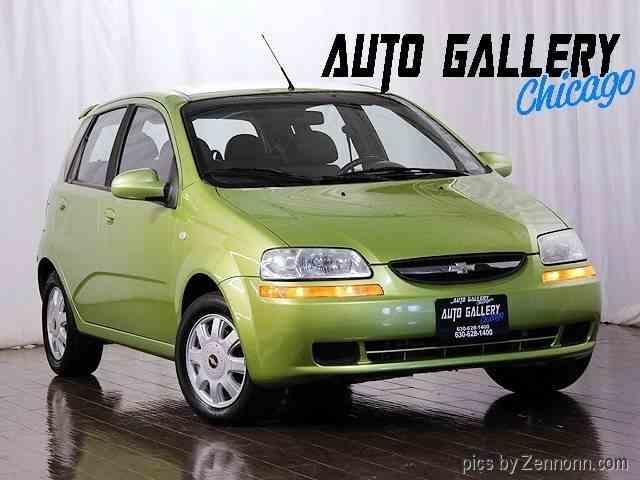 2005 Chevrolet Aveo   938163
