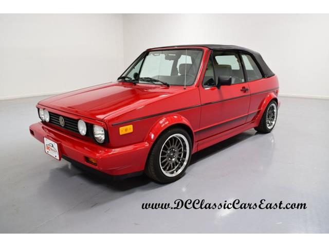 1989 Volkswagen Cabriolet | 938176