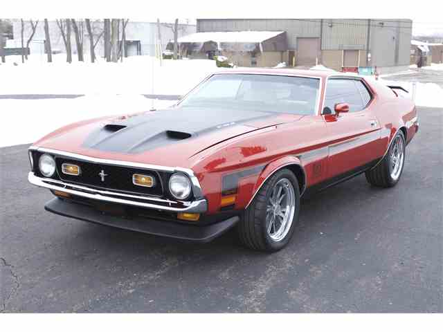 1972 Ford Mustang Mach 1 | 938259