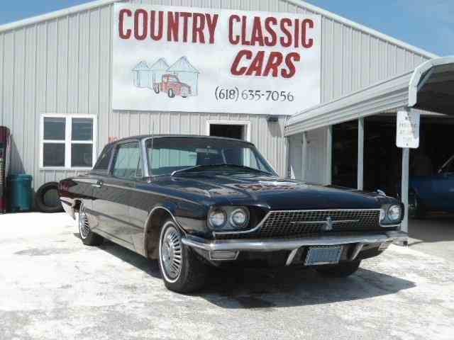 1966 ford thunderbird for sale on 32. Black Bedroom Furniture Sets. Home Design Ideas