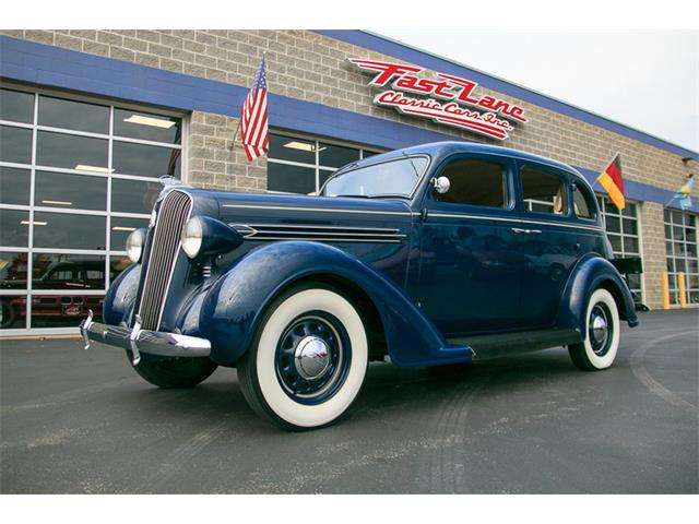 1936 Plymouth 4-Dr Sedan | 930837
