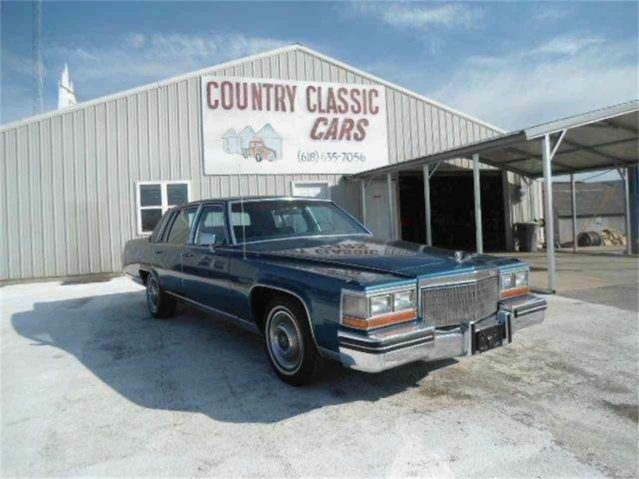 Cadillac Brougham D Elegance For Sale Classiccars Com Cc