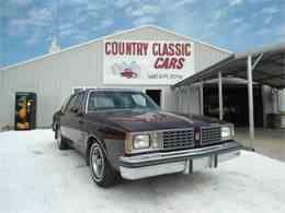 1980 Oldsmobile Cutlass for Sale - CC-938594