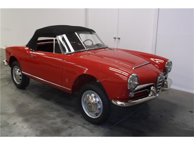 1963 Alfa Romeo Giulietta Spider | 930862